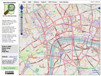 OpenStreetMap example(click to enlarge)